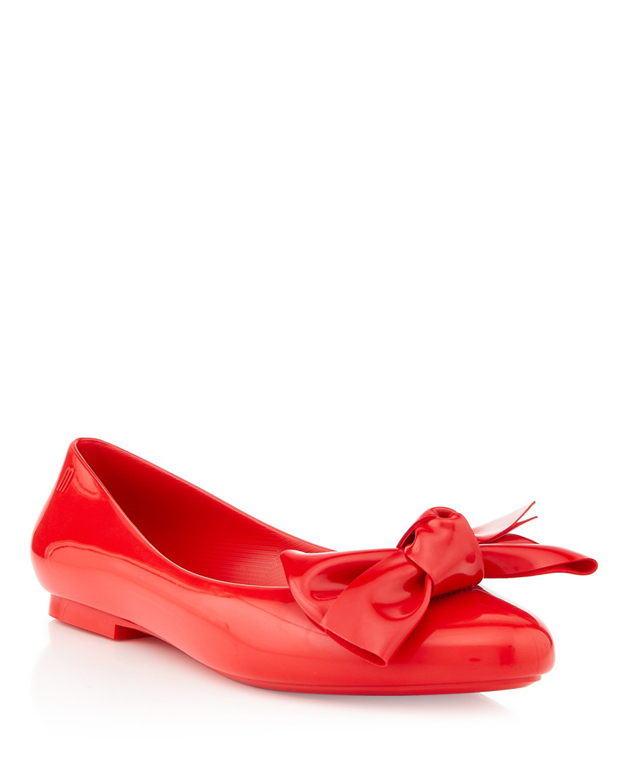 Melissa Doll Bow red ballet flats Sale - melissa shoes