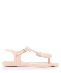 Solar Cherry Blush thong Sandals