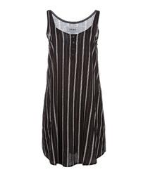 Black stripe pyjama top