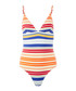 Multi-colour striped swimsuit Sale - stella mccartney Sale