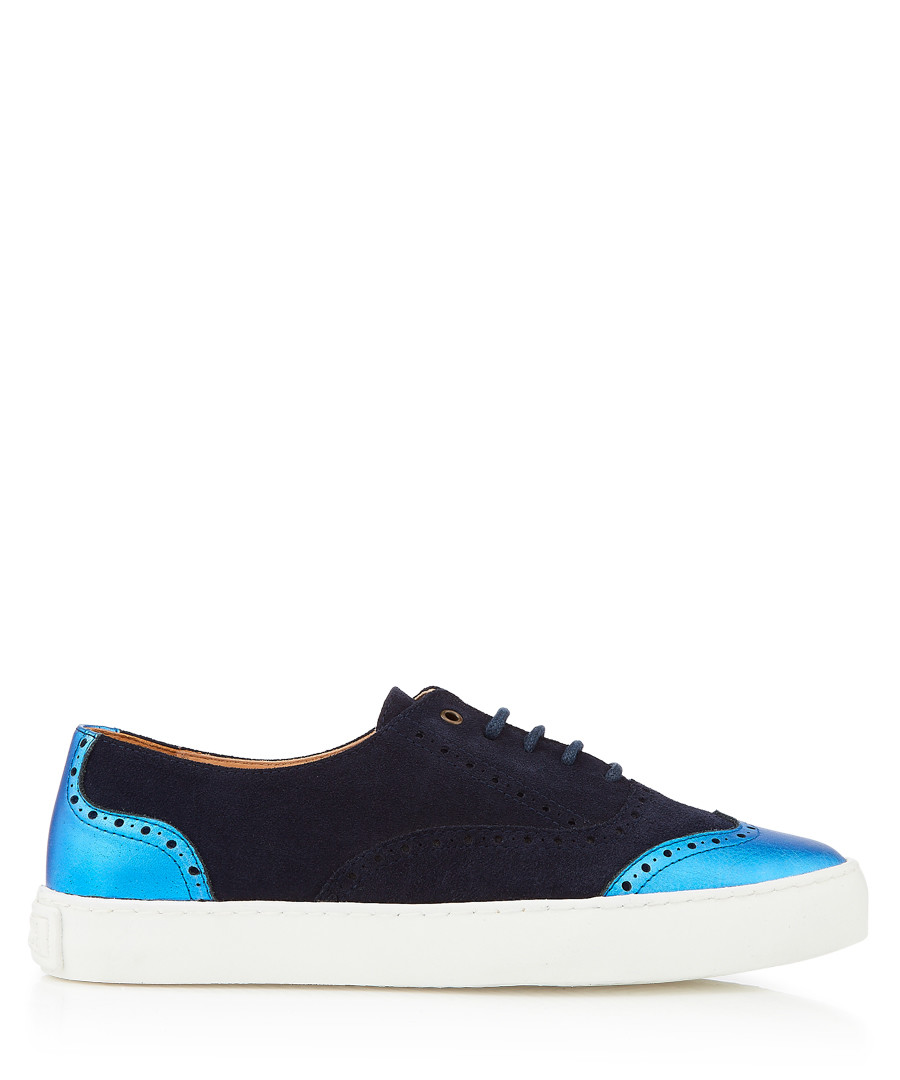 Dreamer navy suede sneakers Sale - Penelope Chilvers