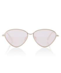 Bazaar silver-tone triangle Sunglasses