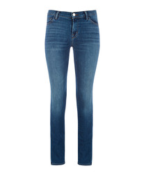 Maude Mid-Rise Light Blue Cigarette Jean