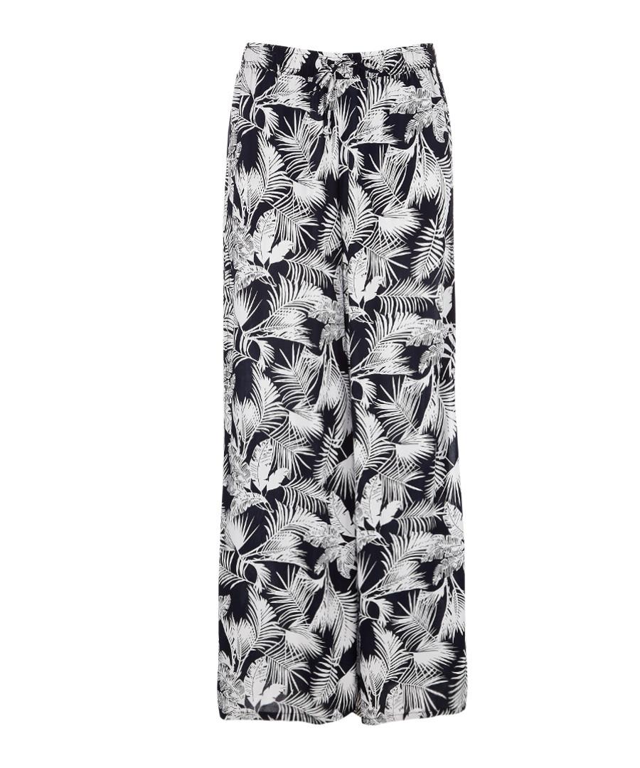 Chloe greyscale split-leg trousers Sale - Onia