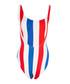 Kelly americana stripe swimsuit Sale - Onia Sale