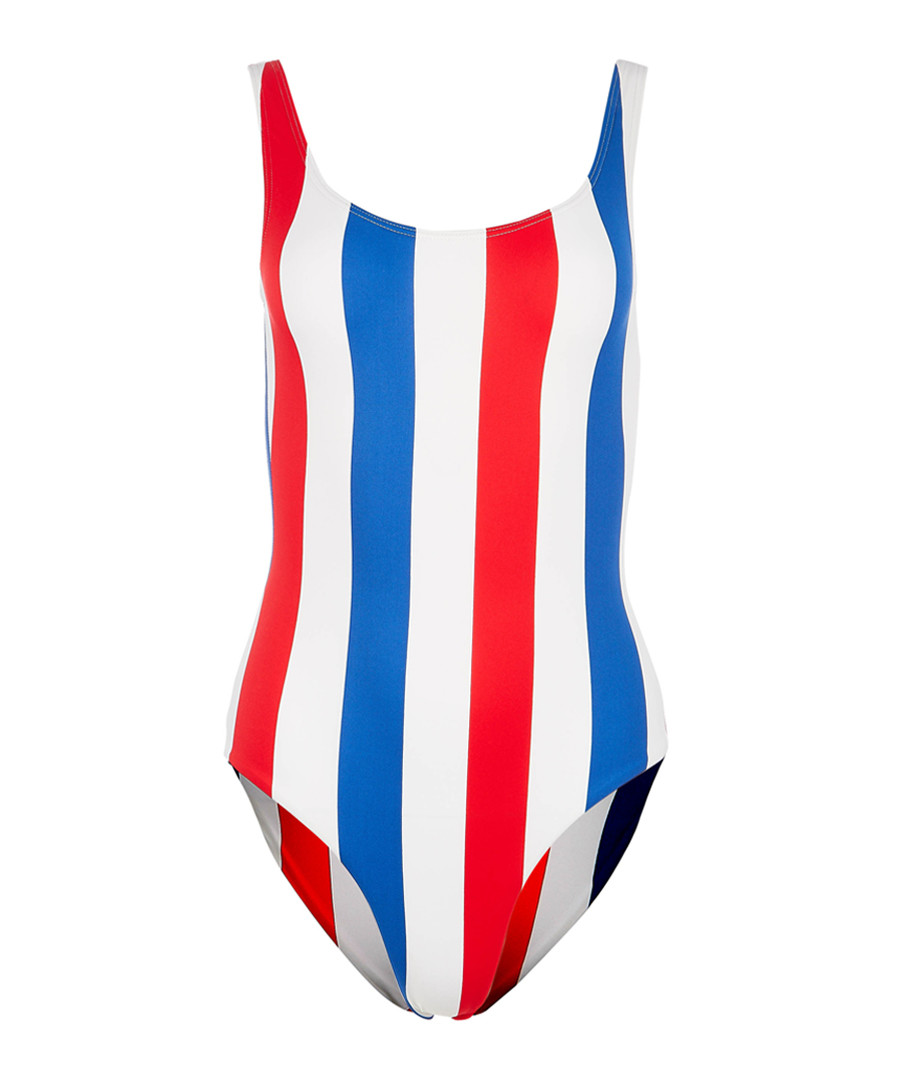Kelly americana stripe swimsuit Sale - Onia