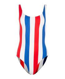 Kelly americana stripe swimsuit