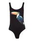 Kelly black toucan swimsuit Sale - Onia Sale