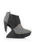 Edge monochrome leather polka boots Sale - United Nude Sale