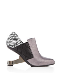 Eamz Janis leather panel ankle boots