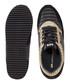 Runner black & gold-tone panel sneakers Sale - United Nude Sale