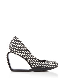 Step Mobius monochrome leather heels