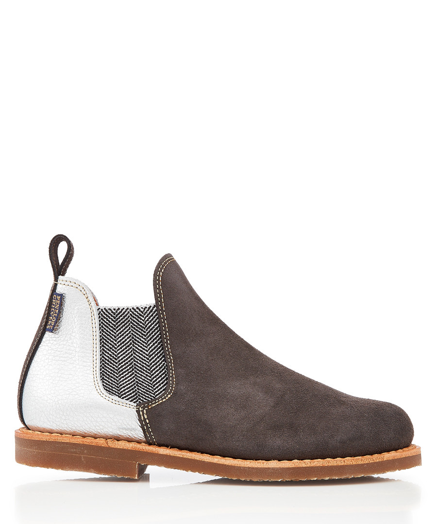 Safari Patchwork leather Chelsea boots Sale - Penelope Chilvers