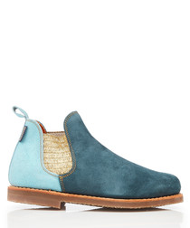 Safari Patchwork leather Chelsea boots