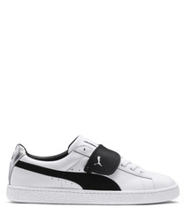 SUEDE CLASSIC X KARL leather sneakers