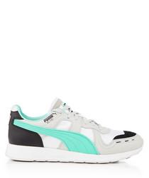RS-100 FUTRO grey & turquoise sneakers