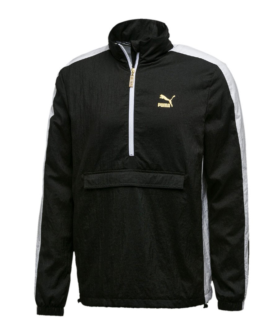 T7 B-Boy black logo track jacket Sale - puma