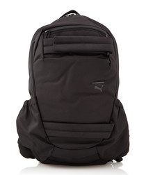 STREET black fabric backpack