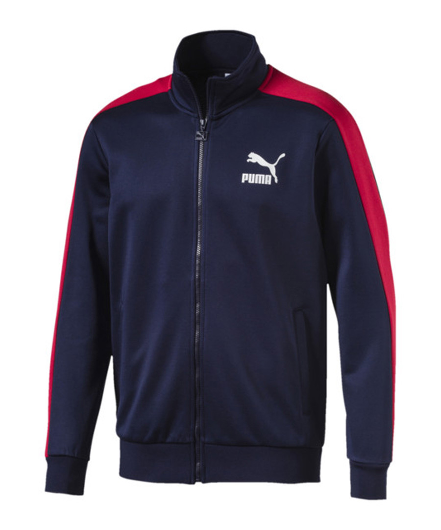 Men's CLASSICS T7 navy TRACK JACKET Sale - puma