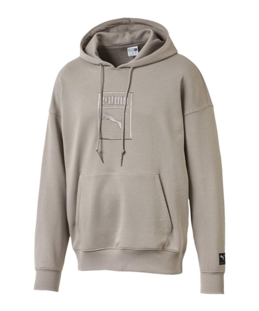 Downtown grey oversized hoodie Sale - puma