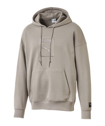 Men's DOWNTOWN Grey OVERSIZEd HOODie