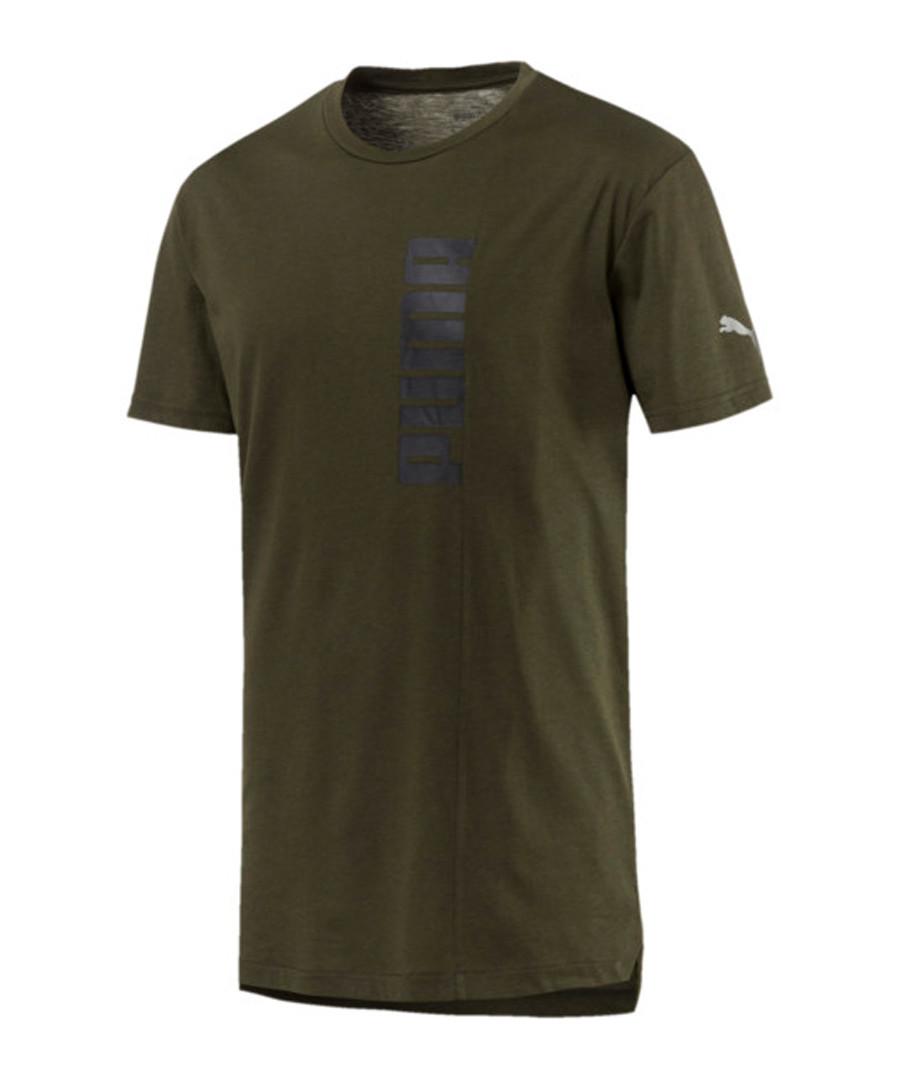 Women's ENERGY TRI-BLEND olive T-shirt Sale - puma