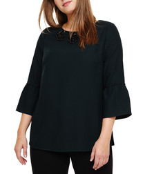 Leonie pine embellished top