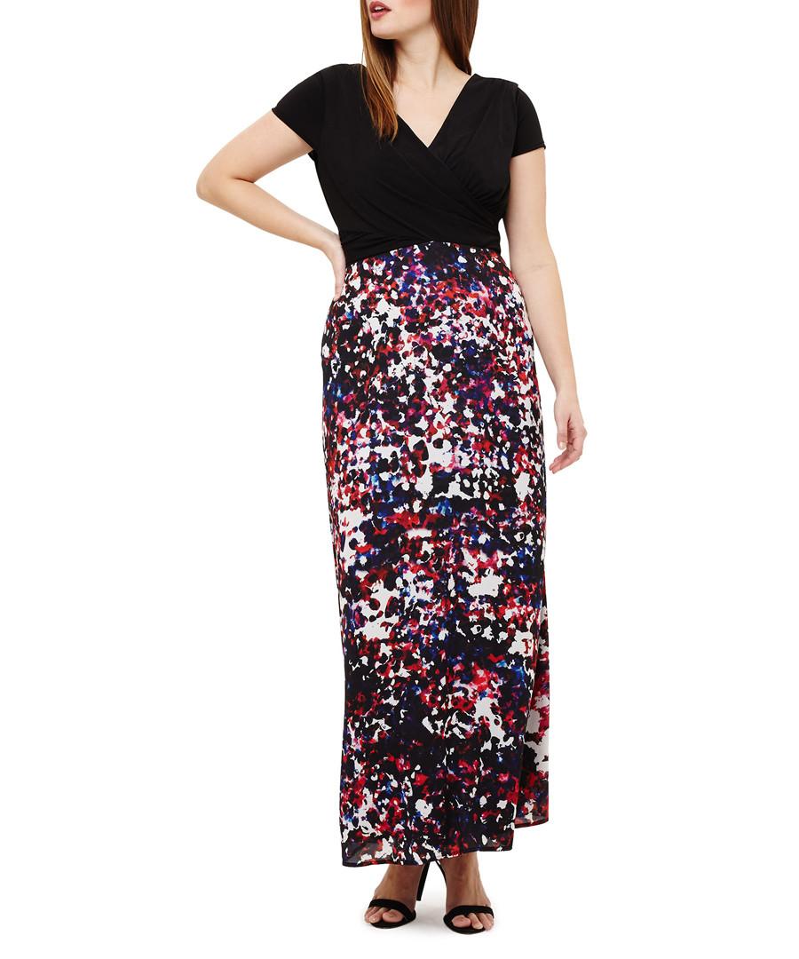 Felicity black & spots maxi dress Sale - phase eight