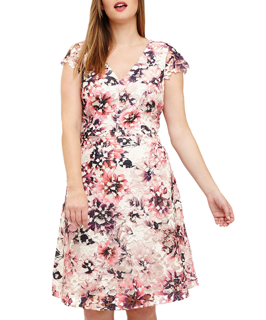 Joselyn pale pink floral dress Sale - phase eight