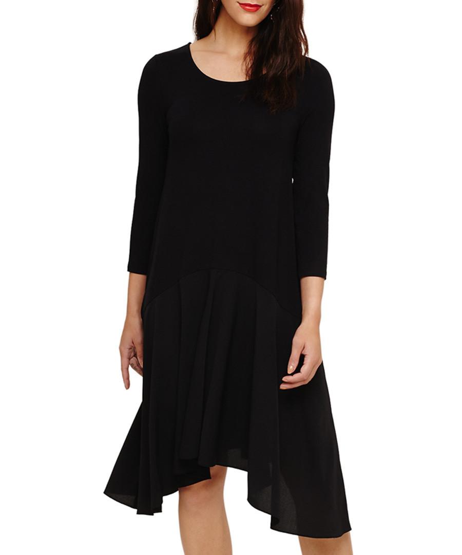 Hennie black asymmetrical dress Sale - phase eight