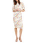Bella ivory & floral short sleeve dress Sale - phase eight Sale
