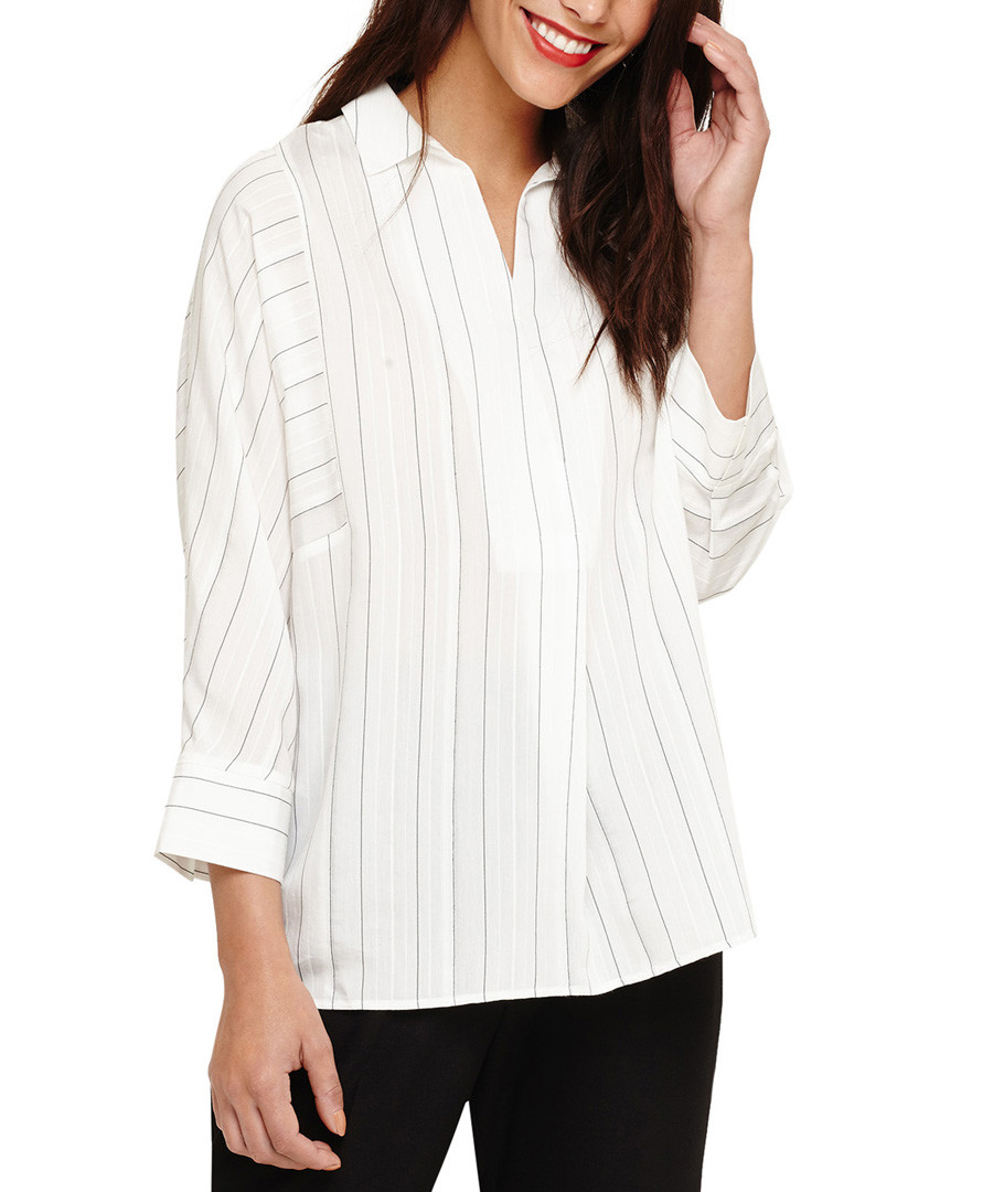 Brogan ivory stripe blouse Sale - phase eight