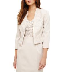 Trixi cream lace jacket