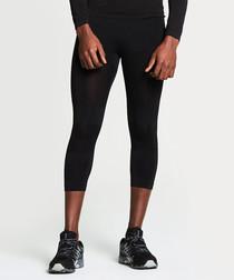 Black base 3/4 leggings