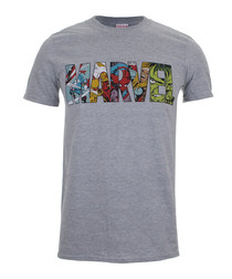 Men's Marvel grey T-shirt