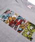 Men's Marvel grey T-shirt Sale - marvel Sale