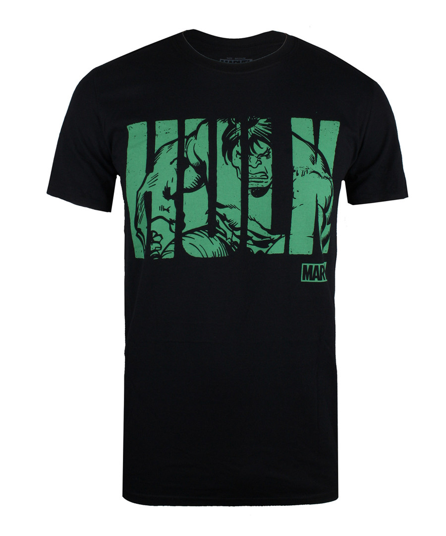 Men's Hulk black & green T-shirt Sale - marvel