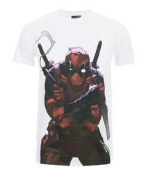 Men's Deadpool white T-shirt