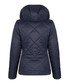 Navy hooded coat Sale - giorgio di mare Sale