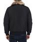 Black faux-fur collar jacket Sale - giorgio di mare Sale