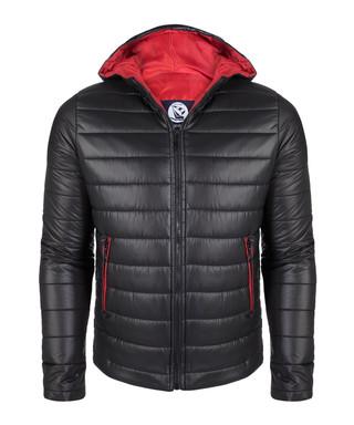 be46da3f1c6e1 Black padded hood coat Sale - giorgio di mare Sale