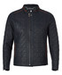 Walnut quilted leather jacket Sale - Felix Hardy Sale