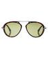 Havana & green aviator sunglasses Sale - tom ford Sale