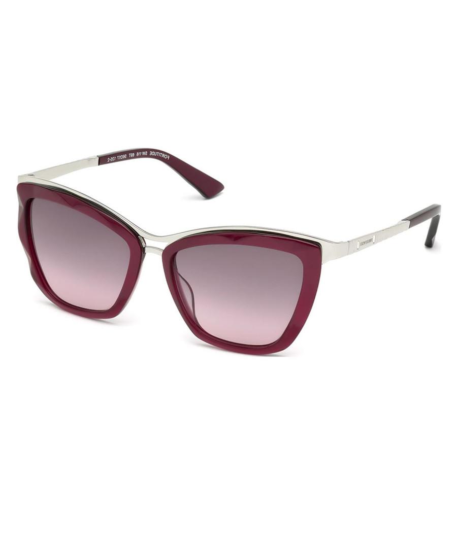 Maroon & pink lens sunglasses Sale - swarovski