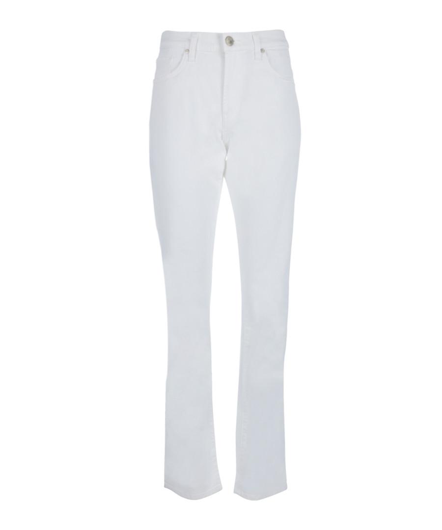 Tyler white cotton slim jeans Sale - J Brand