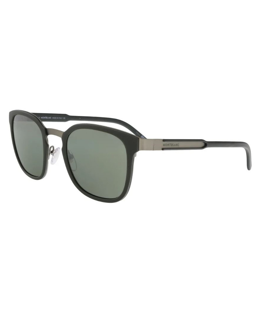 Green & grey lens sunglasses Sale - Montblanc