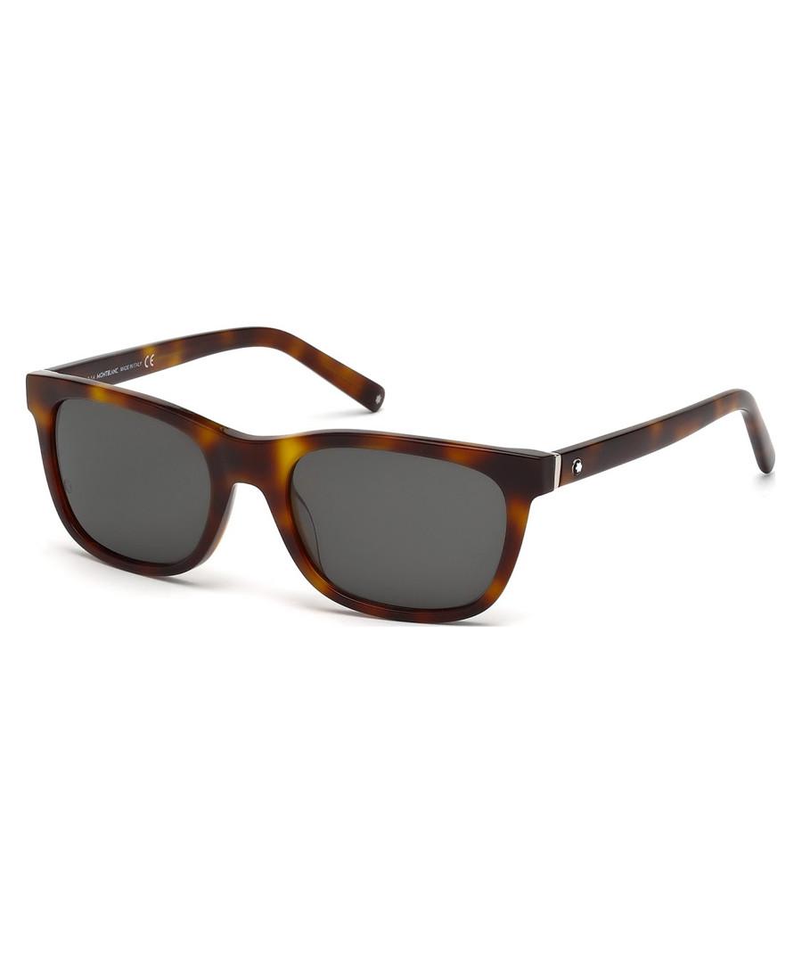 Havana & grey sunglasses Sale - montblanc