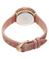 Pink swarovski leather watch Sale - Burgi Sale