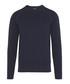 Lexter Square navy cotton blend jumper Sale - J Lindeberg Sale