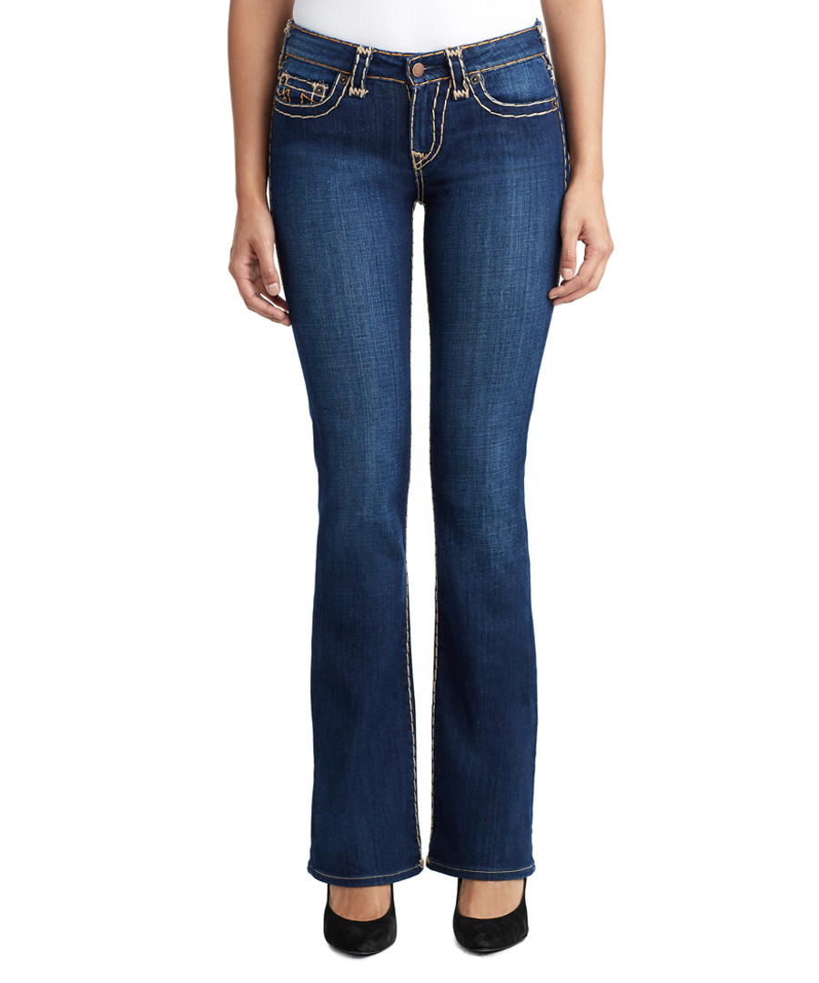Becca Mid-rise bootcut jeans Sale - true religion